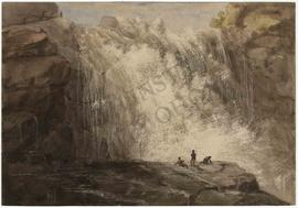 Waterfalls with figures