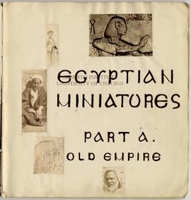 Title Page - Egyptian Miniatures Part A. Old Empire