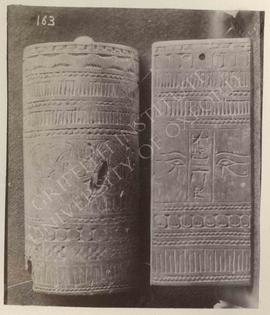 Wooden boxes of Huy, New Kingdom, provenance not known, now in Turin, Museo Egizio, Cat. 6415
