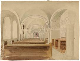 Interior of church (not identified)
