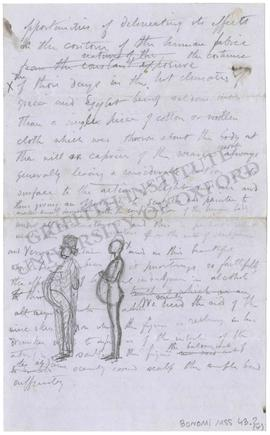 Note on a marble statue in the collection of Dr Lee of Hartwell and on the artistic representatio...