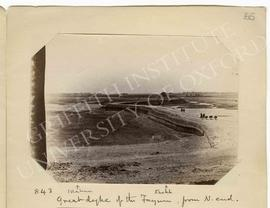 [843] Great dyke of the Fayum, from N. end.