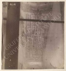 Probably coffin of Djeho, Late Period, provenance not known, now in Bologna, Museo Civico Archeol...