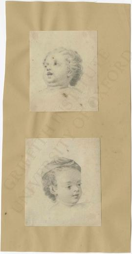 Two infants heads