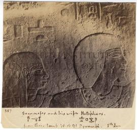 [357] Sem.nefer and his wife Hotep.hars.