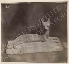 Satuette of cat lying down, provenance not known, now in Bologna, Museo Civico Archeologico