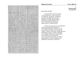 Broome letter 1