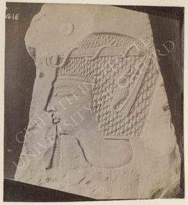 Trial-piece showing the head of Sethos I, Ramesses III or IV(?), provenance not known, now in Tur...