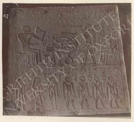 Stela of Antef, Dyn. XII (possibly temp. Amenemhet III), provenance not known, now in Florence, M...