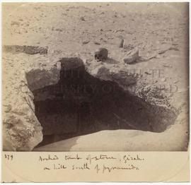 [379] Arched tomb of stone, Gizeh.