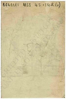 Sketch with figures