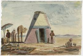 Egypt. Desert camp