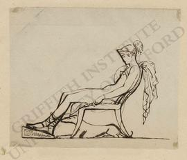 Seated Diana