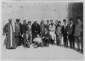 Group photograph with Egyptologists 02