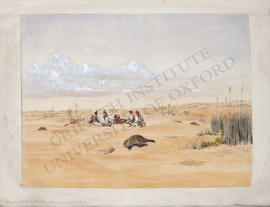 Salhieh (Salhiya), boar hunting in the salt marshes