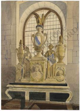 Memorial to Sir Robert Stanley (d. 1632) in Chelsea Old Church, London