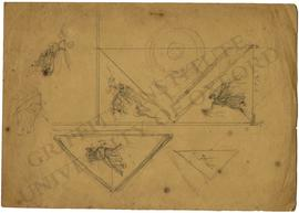 Design for a ceiling with Muses