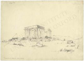 Greece. Island of Aegina. Temple of Aphaia  (formerly known as the Temple of Jupiter Panhellenius)