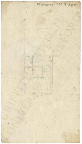 Plan of building (not identified)