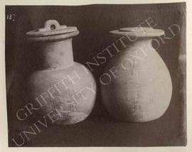 Four vases of Djehuty, provenance not known, now in Turin, Museo Egizio, Cat. 3225-3228 [together...