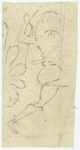 Figure; tracing of detail of Bonomi MSS 39.22