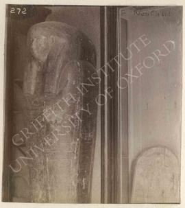 [Left] Coffin of Nebtaui, provenance not known, now in Florence, Museo Archeologico; [right] stel...