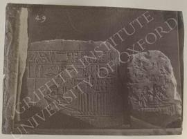 [Left] Stela of Mery, late Old Kingdom, from the Akhmim district, now in Florence, Museo Archeolo...