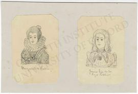 Portraits of Margaret of Austria and Joanna of Castile