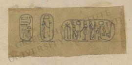 Cartouches of Ramesses II