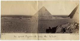 [447-8] The great Pyramid from the West.