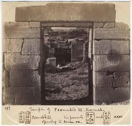 [197] Temple of Psametik III. Karnak.