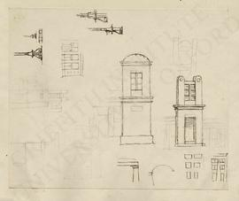 Architectonic designs (elevations, sections and details)